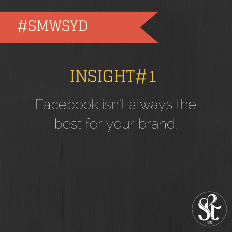 Social Media Insight Week Insight #1