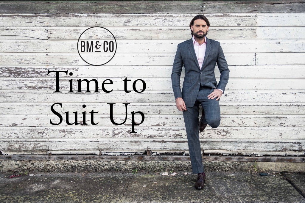 BrownMen&Co 'Time to Suit Up' Advertisement