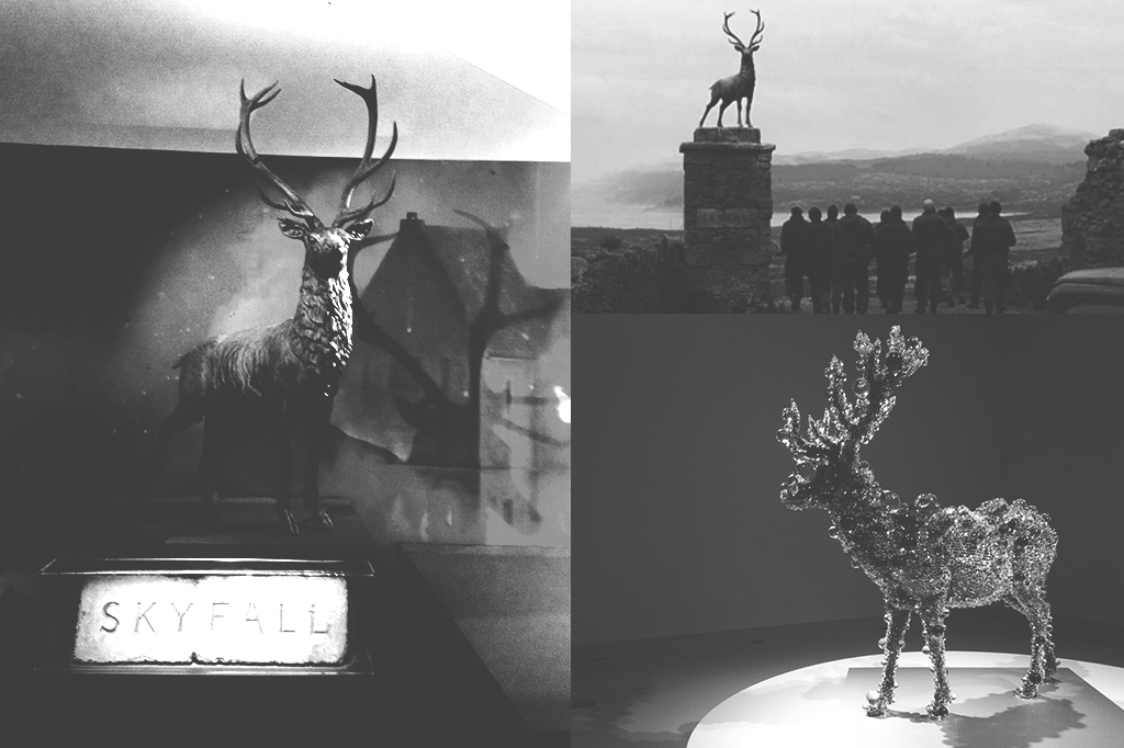 Creative technology testing of Deer for light sculpture