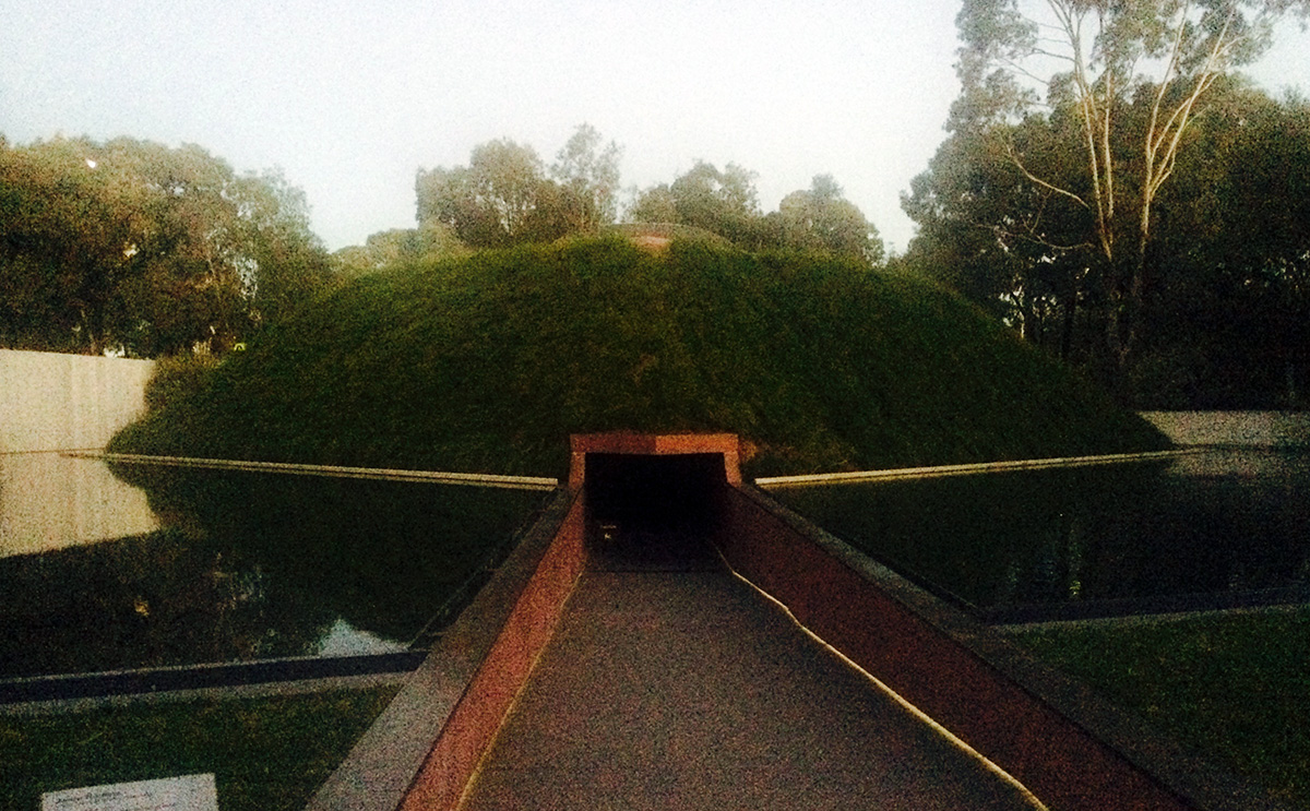 James Turrell Canberra Perceived Reality Skyspace