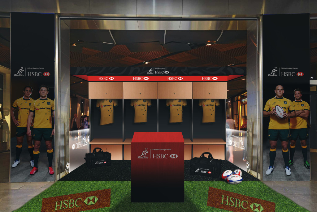 HSBC Wallabies Activation Set for Virtual Reality