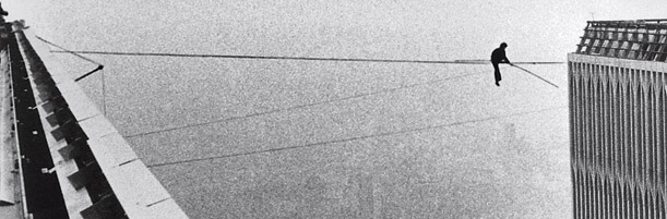 Man on Tightrope