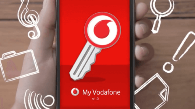 Vodafone Smartphone Animation App.