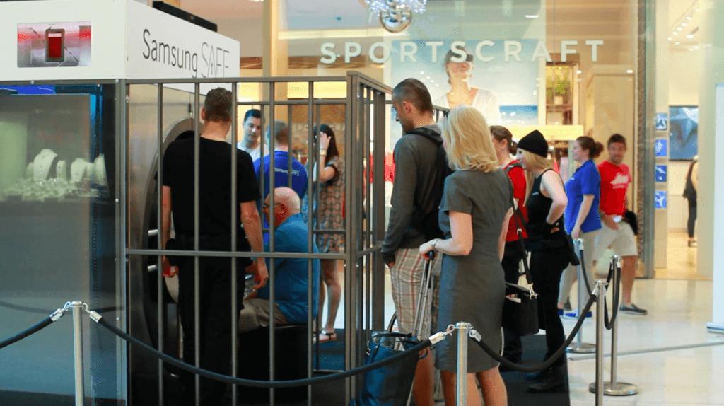 Samsung Safe Activation in Westfield
