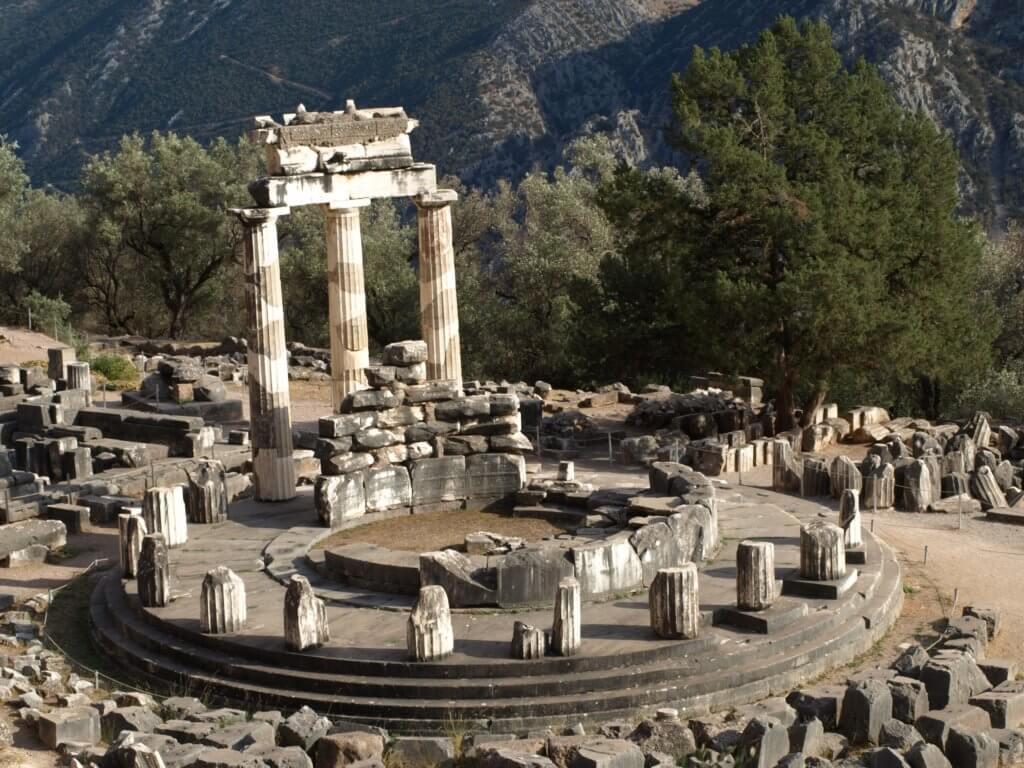 Tholos Temple at Delphi