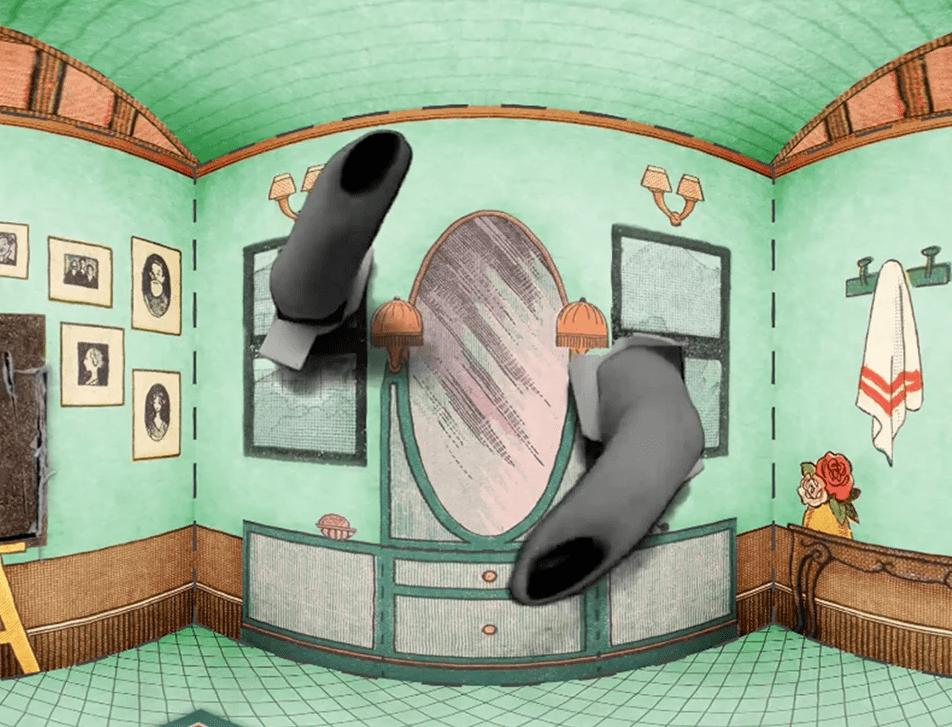Virtual Reality Doll House game mechanic