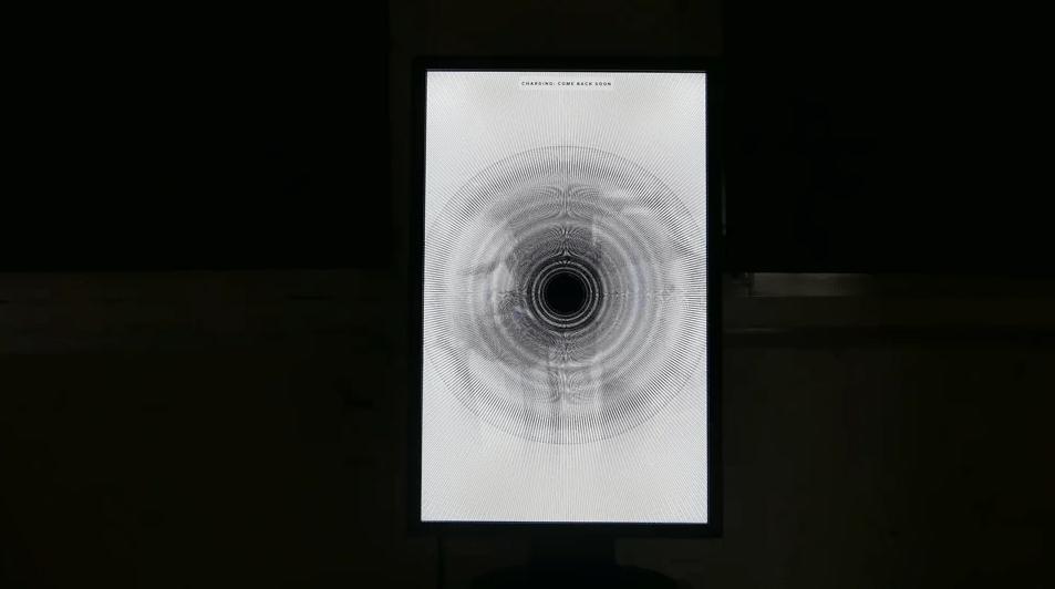 Interactive Lights shown on screen from EEG sensor