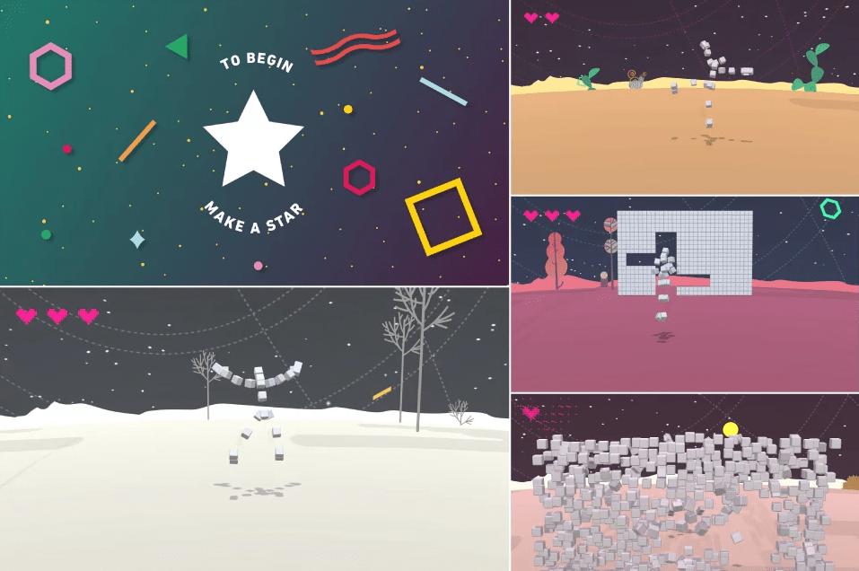 Interactvie Human Tetris game moonboard