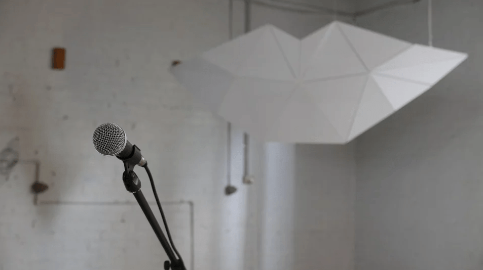 Voice Control Microphone at FABLES Interactive Structure