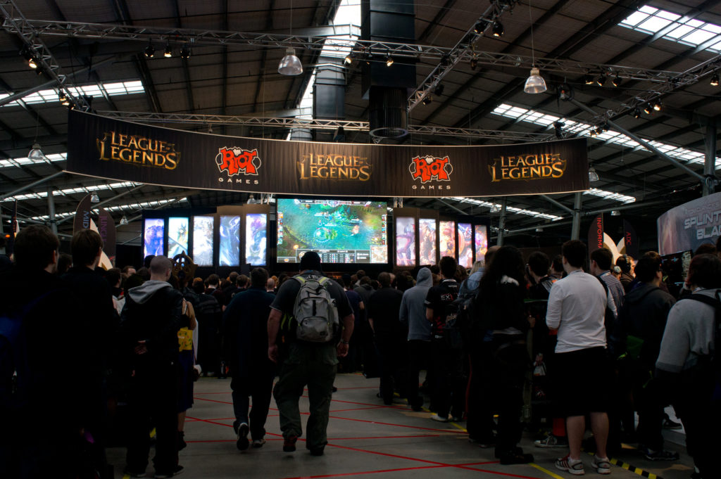 League of Legends stand at PAX