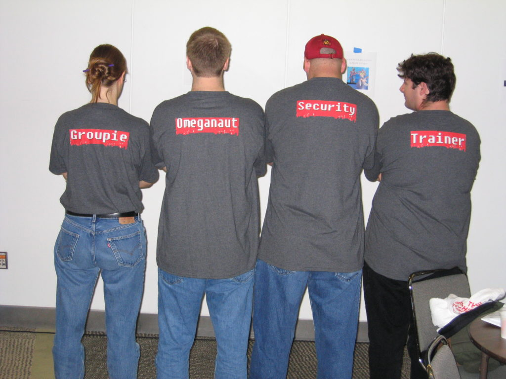 Some of the attendees at the original PAX event in 2004