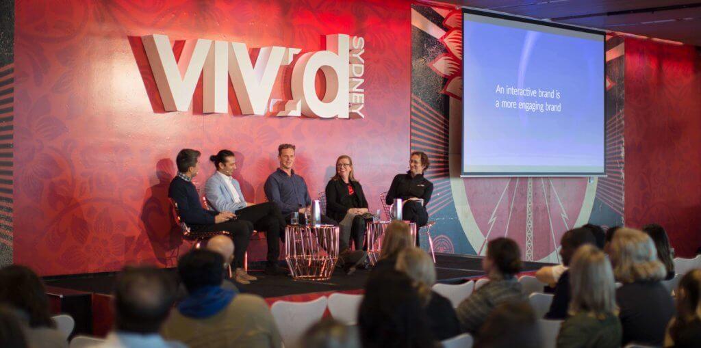 Imagining An Interactive Brand at Vivid Ideas 2017