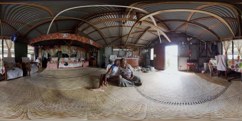 360 virtual reality shot in Namarai Fiji for COP23