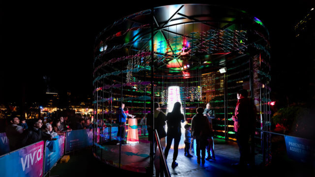 Revive The Reef Tackles Climate Change at Vivid Sydney.