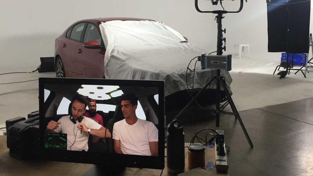 Behind the scenes at the Kia Caraoke video shoot with Thanasi Kokkinakis