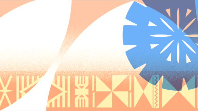 Fijian-inspired patterns on blog feature image.